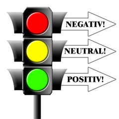 Ampel - Negativ - Neutral - Positiv