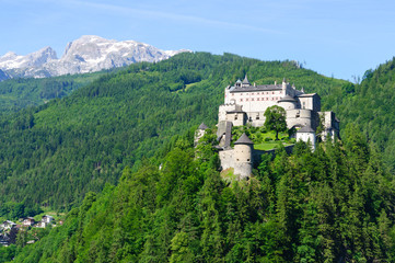 Burg Hohenwerfen in Werfen, Austria