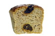 appetizing bread from dried plums