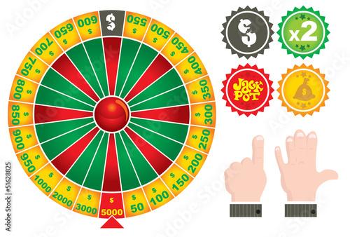 roulette casino game.