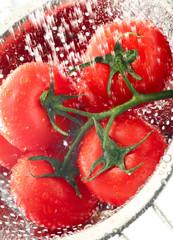 Tomatoes-on-vine-water-splash