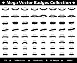Mega Vector Badges Collection