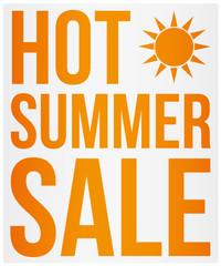 Hot Summer Sale - Sommer Angebot