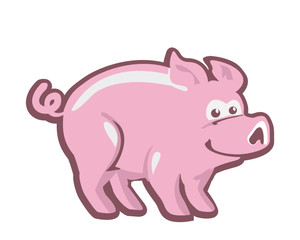 pig- pic vector
