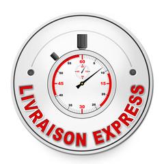 """Label """"Livraison express"""""""