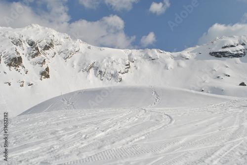 Fagaras Balea Lake Mountains