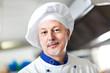 Happy chef portrait
