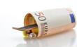 Skateboard und Euro