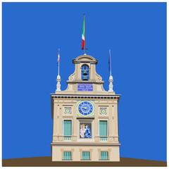 Palazzo del Quirinale - Torretta dei Venti