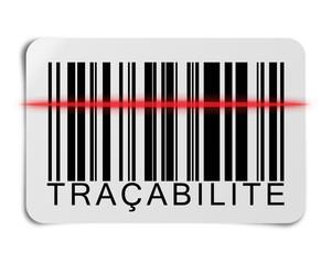 Traçabilité, code barre,et lecture par  scanner