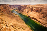 The Colorado River Canyon in Arizona