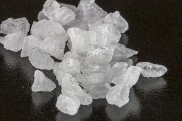 Meersalz Kristalle