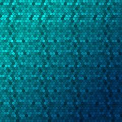 Digital honeycomb background