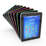 Set of Tablet PCs