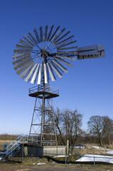 Windpumpwerk Gesamtansicht