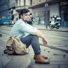 stylish man in the street