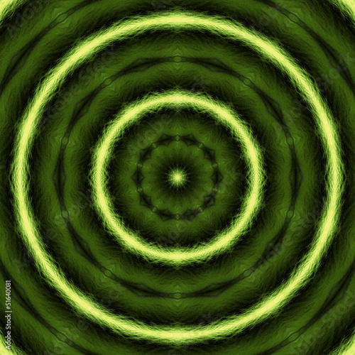 Green Radial Radiation Background 02
