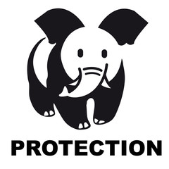 WWF, éléphant,panda,logo,marque,protection,sauver,