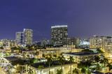 Miami south beach night street view