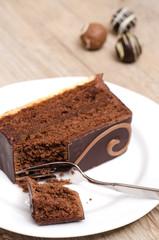 Schokoladenschnitte