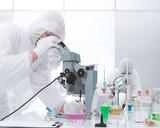 laboratory chemical analysis poster