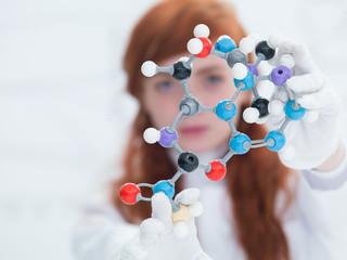 dmt molecular model