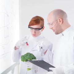 laboratory broccoli injection