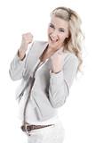 Karriere - Powerfrau isoliert