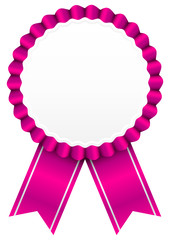 Award Badge Pink
