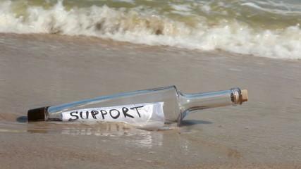 Bottle support