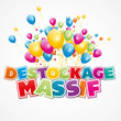 destockage massif