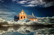 Alte Kirche in den Wolken - Wolkenschloss