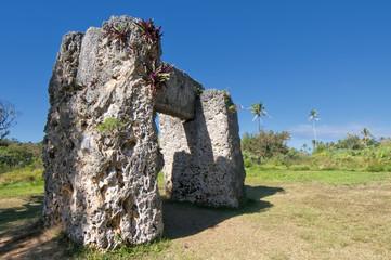 Tonga Polynesia paradise old coral dolmen
