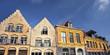 Façade dans les rues du Vieux-Lille - France