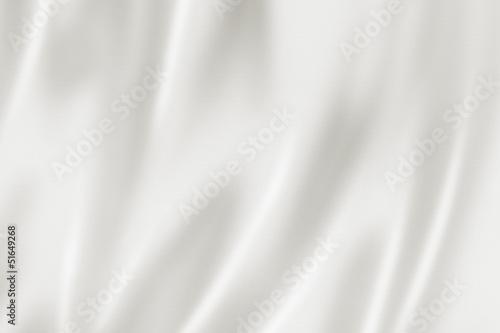 Fotobehang Stof White satin texture