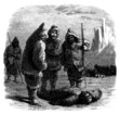 Finding à dead Polar Explorer - end 19th century