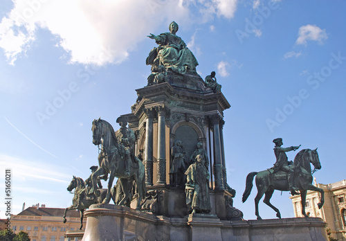 Monument of Maria Theresia (Vienna, Austria)