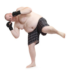 Thai boxer.