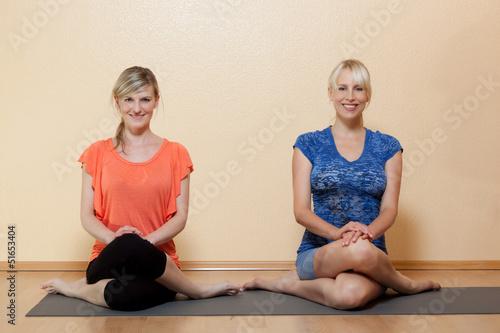 Yoga - der aufrechte Sitz