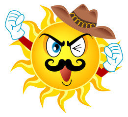 髭の太陽キャラクター