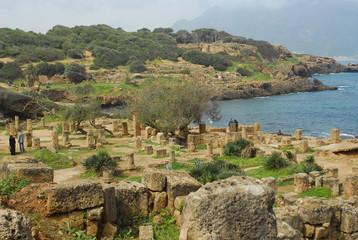 Ruines romaines de Tipaza-Algerie