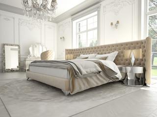 edles schlafzimmer