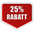 Marker rot 25 % RABATT
