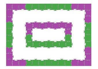 Çerçeve puzzle tasarımı
