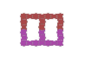 Çerçeve puzzle tasarım