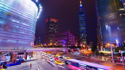 Taipei, Taiwan Downtown District