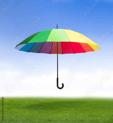 Regenschirm Draußen