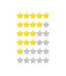 progress bar from flower-stars