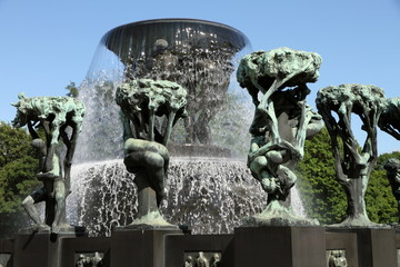Vigeland, Frogner Park, Oslo, Norway, Europe