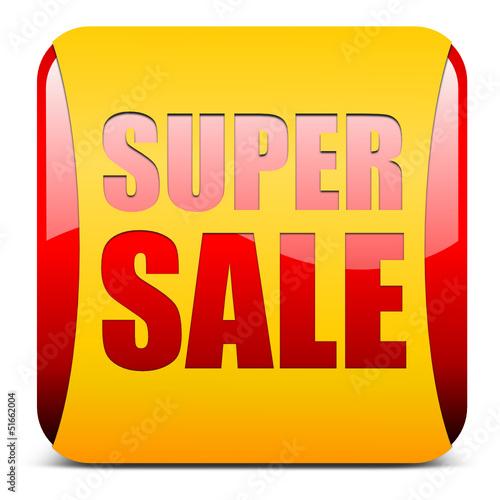 super sale, button glossy